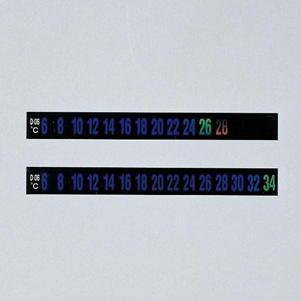 【送料無料】デジタルサーモテープ D-06 幅:10mm【30枚入】【代引不可】