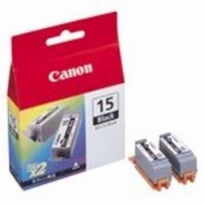 【送料無料】(業務用40セット) Canon キヤノン インクカートリッジ 純正 【BCI-15BK】 ブラック(黒)
