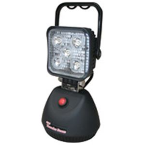 【送料無料】【訳あり・在庫処分】(業務用2セット) 熱田資材 LED投光器 充電式サンダービームLED-J15