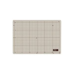 【送料無料】(業務用50セット) オルファ カッターマット 134B A4 グレー/茶