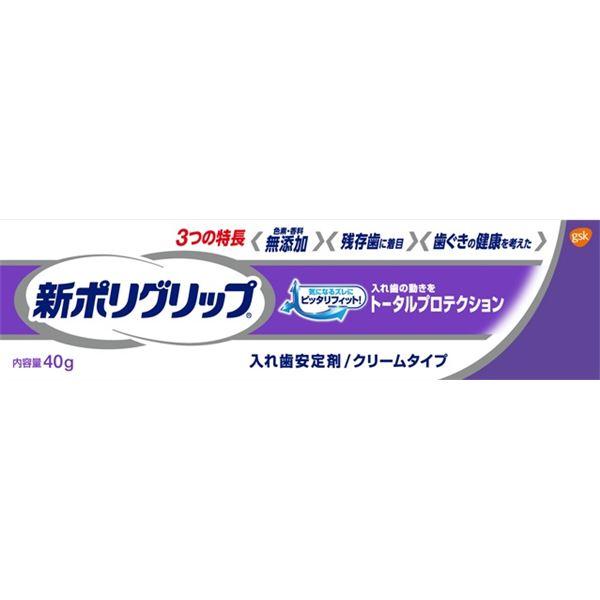 【送料無料】(まとめ)グラクソスミスクライン 新ポリグリップ トータルプロテクション 40g 【×12点セット】