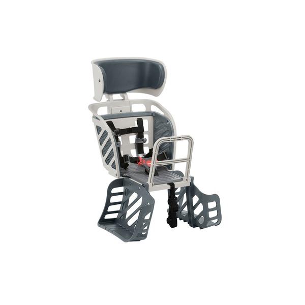 【送料無料】ヘッドレスト付き後ろ用子供乗せ(自転車用チャイルドシート) 【OGK】RBC-009DX3 Wグレー(灰) 〔自転車アクセサリー〕【代引不可】