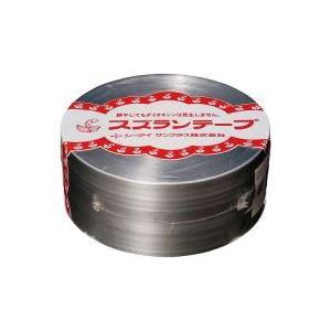 【送料無料】(業務用100セット) CIサンプラス スズランテープ/荷造りひも 【銀/470m】 24203102