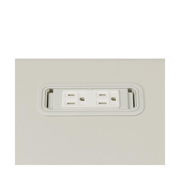 【送料無料】(業務用10セット) プラス 電源系コンセントボックス LA-CS LGY