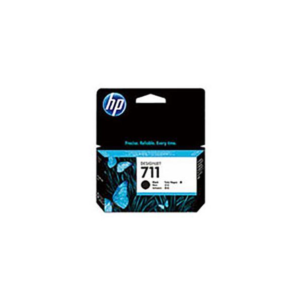 【送料無料】(業務用3セット) 【純正品】 HP インクカートリッジ 【CZ129A HP711 BK ブラック】38