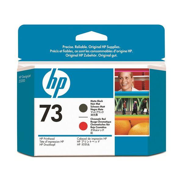 【送料無料】(まとめ) HP73 プリントヘッド マットブラック/クロムレッド CD949A 1個 【×3セット】