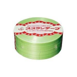 【送料無料】(業務用100セット) CIサンプラス スズランテープ/荷造りひも 【若草/470m】 24203105