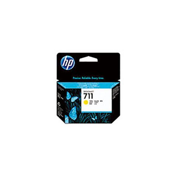 (業務用5セット) 【純正品】 HP インクカートリッジ 【CZ132A HP711 Y イエロー 29】