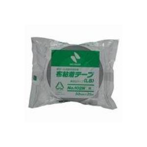 【送料無料】(業務用100セット) ニチバン カラー布テープ 102N-50 50mm×25m 銀