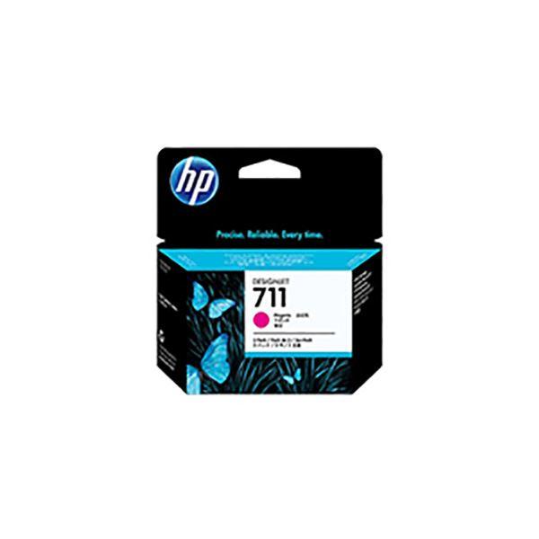 【送料無料】(業務用3セット) 【純正品】 HP インクカートリッジ 【CZ135A HP711 M マゼンタ】 3コ
