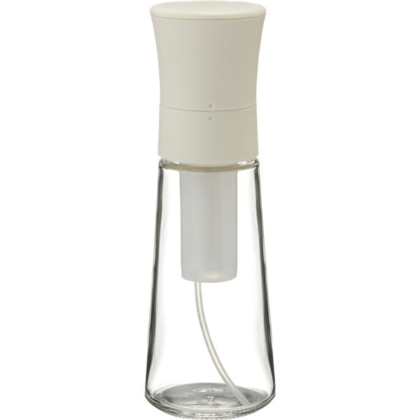 【送料無料】【50セット】 オイルスプレー/調味料ボトル 【ホワイト】 本体:ソーダガラス 『リベラリスタ』【代引不可】