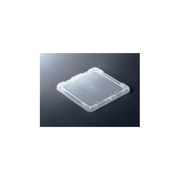 【20個セット】 TP規格コンテナボックス 【フタのみ単品 TP-33蓋ロックなし】 透明 相互モジュール嵌合可【代引不可】