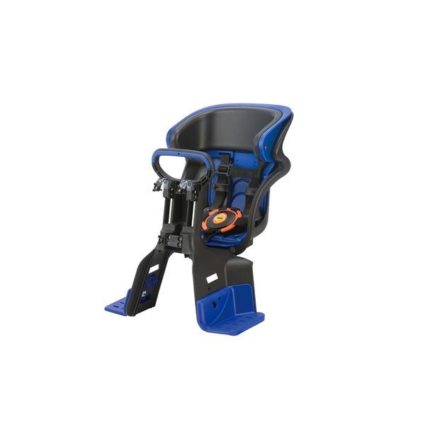 【送料無料】ヘッドレスト付きフロント子供乗せ(自転車用チャイルドシート) 前用 【OGK】FBC-011DX3 ブラック(黒)/ブルー(青)【代引不可】