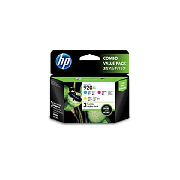【送料無料】(業務用3セット) 【純正品】 HP インクカートリッジ 【E5Y50AA HP920XL 3色マルチパック】