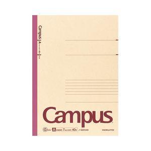 【送料無料】(業務用セット) コクヨ 再生紙キャンパスノート A4 A罫(7mm) 1冊(40枚) 【×20セット】