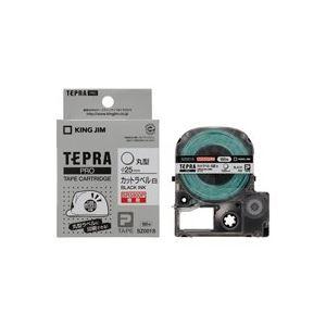 【送料無料】(業務用20セット) キングジム 「テプラ」PROテープ カット白SZ001S