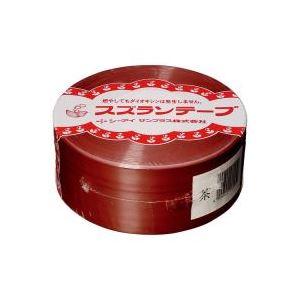 【送料無料】(業務用100セット) CIサンプラス スズランテープ/荷造りひも 【茶/470m】 24202018