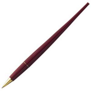 【送料無料】(業務用100セット) プラチナ万年筆 デスクボールペン DB-500S#10 赤