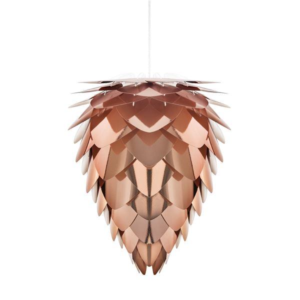 【送料無料】ペンダントライト/照明器具 【1灯】 北欧 ELUX(エルックス) VITA Conia copper ホワイトコード 【電球別売】【代引不可】
