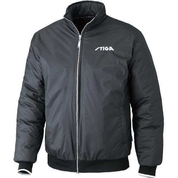 【送料無料】STIGA(スティガ) 卓球アウター SEASON JACKET シーズンジャケット ブラック L