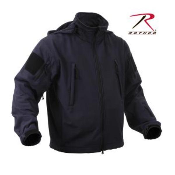 【送料無料】ROTHCO(ロスコ) スペシャルOP S タクティカルソフトシェルジャケット ROGT9745 ミッドナイト ネイビー M