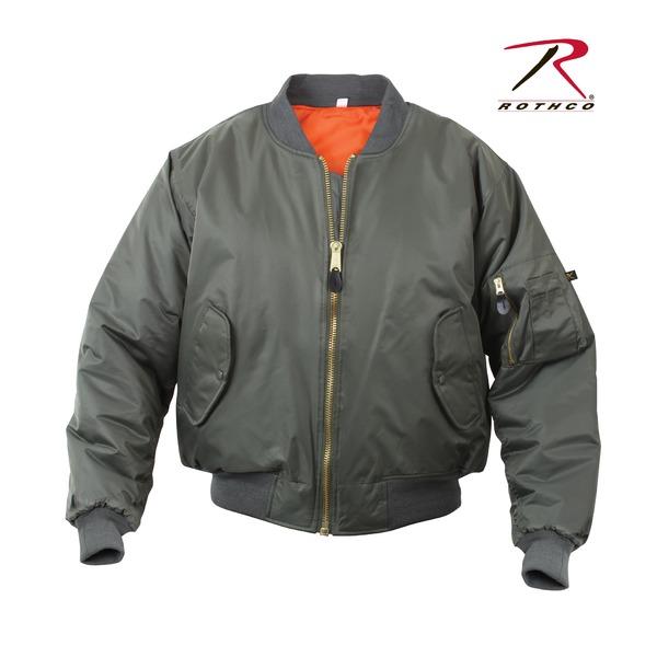 【送料無料】ROTHCO(ロスコ) MA-1フライトジャケット ROGT7324 オリーブ M