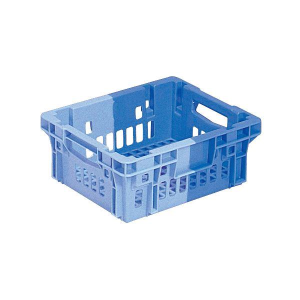 【送料無料】(業務用10個セット)三甲(サンコー) SNコンテナ/2色コンテナボックス 【Cタイプ】 # 7 ブルー×ライトブルー 【代引不可】