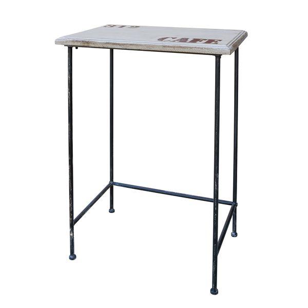 【送料無料】カルナック(CARNAC) アンティーク調 アンティーコサイドテーブル01 PJ011