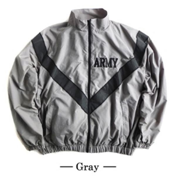 【送料無料】US ARMY IPFU 防風撥水加工大型リフレクタージャケットレプリカ グレー L