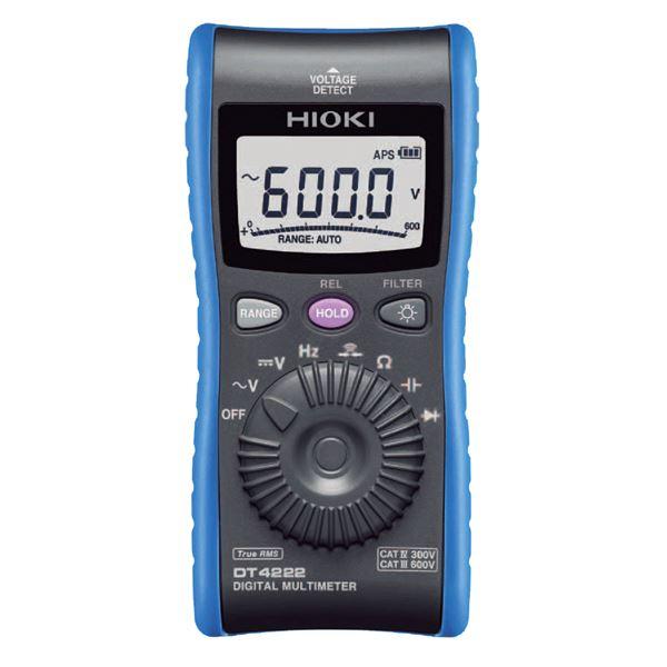 【送料無料】日置電機 デジタルマルチメータ DT4222【代引不可】