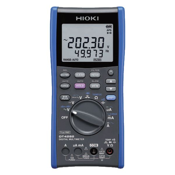 日置電機 デジタルマルチメータ(10A端子搭載タイプ) DT4282【代引不可】