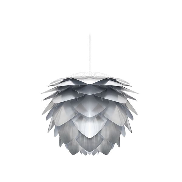 【送料無料】ペンダントライト/照明器具 【1灯】 北欧 ELUX(エルックス) VITA Silvia mini steel ホワイトコード 【電球別売】【代引不可】