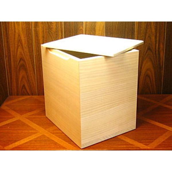 【送料無料】桐の米びつ/ライスストッカー 【20kg用/無地】 泉州留河 日本製