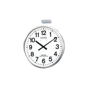 【送料無料】シチズン 屋外用電波掛時計パルウェーブM611B 4MY611-B19