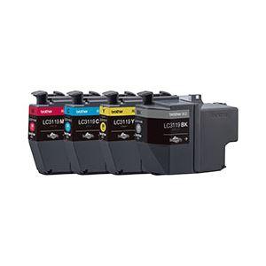 【送料無料】ブラザー工業 インクカートリッジ大容量タイプ 4色パック LC3119-4PK