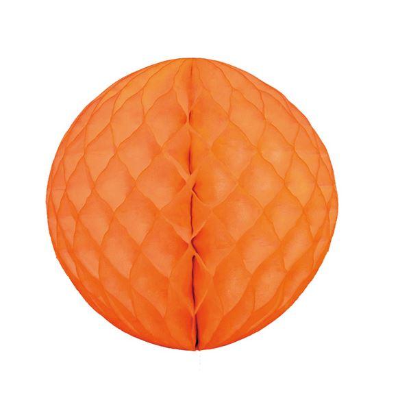【送料無料】(業務用20セット) hanaoka ハニカムボール30cm オレンジ