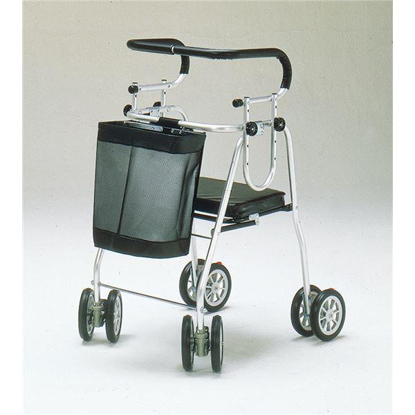 【送料無料】五十畑工業 歩行車 アシストシルバーカー ニューDX H007【非課税】