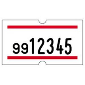 (業務用10セット) サトー ラベル SP用 赤2本線 20巻