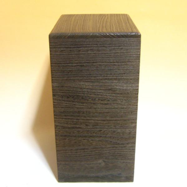【送料無料】桐の米びつ/ライスストッカー 【10kg用/焼桐】 縦長型 泉州留河 日本製