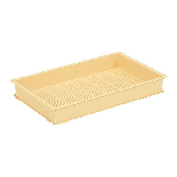 【送料無料】(業務用10個セット)三甲(サンコー) 麺用コンテナボックス 3型-T クリーム 【代引不可】