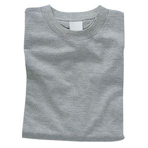 【送料無料】(まとめ)アーテック カラーTシャツ 綿100% 半袖 無地 杢グレー 【×15セット】