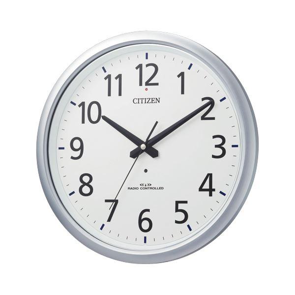 【送料無料】リズム時計 シチズン電波掛時計 8MY493-019