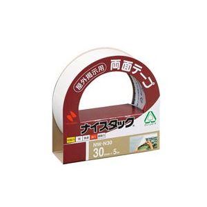 【送料無料】(業務用100セット) ニチバン 両面テープ ナイスタック 【屋外掲示用/幅30mm×長さ5m】 不織布 NW-N30