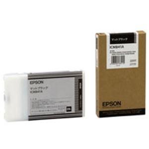 【送料無料】(業務用3セット) EPSON エプソン インクカートリッジ 純正 【ICMB41A】 マットブラック(黒)