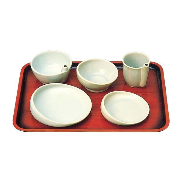 【送料無料】有月陶器 食事用具 らくらく食器 5点セット 96020