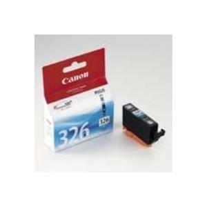 【送料無料】(業務用50セット) Canon キヤノン インクカートリッジ 純正 【BCI-326C】 シアン(青)
