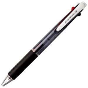 (業務用100セット) 三菱鉛筆 多色ボールペン/ジェットストリーム 3色 【0.7mm】 油性 黒・赤・青 SXE340007.24 黒