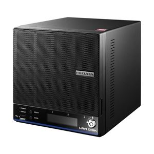 【送料無料】アイ・オー・データ機器 「WD Red」2基/高速CPU搭載 「拡張ボリューム」採用 高信頼2ドライブビジネスNAS6TB HDL2-H6