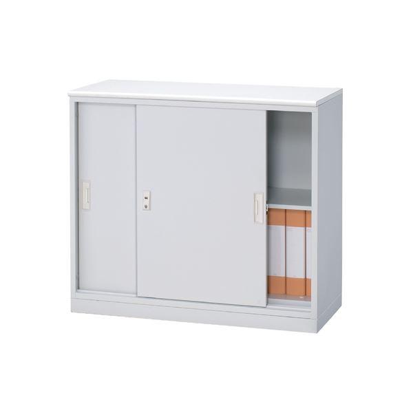【送料無料】東京鋼器 スチール引戸 2段窓下 MST073-SBT
