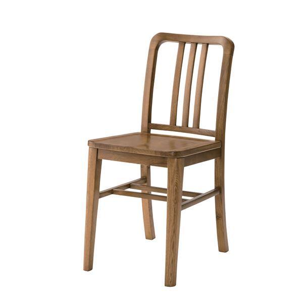 【送料無料】木製ダイニングチェア/リビングチェア 【座面高47cmcm】 木目調 『クーパス』 VET-632